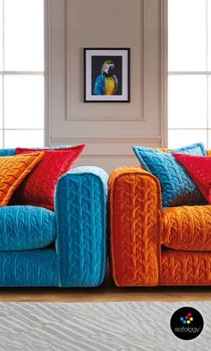 Looking for style, comfort and starburst colours to make your house truly feel like a home? Then look no further... Candi, a starburst of deep quilted, velvet soft comfort and available in a choice of sizes to fit any space.