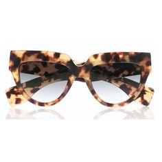 Prada Catwalk Poeme sunglasses 2013 (9,425 THB) found on Polyvore
