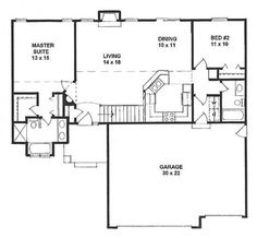 1100 sq ft house plans 3 bedroom 700 square foot house for 1100 sq ft ranch house plans