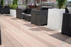 WPC decking - it's stylish, modern and completely reliable!
