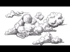 How to Draw Clouds - Easy Clouds to Draw