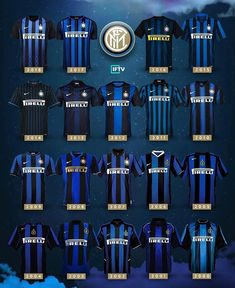 NERAZZURRI  Les plus belles couleurs du monde  . . . #fcim #inter #nerazzurri #shirt #jerseys #colorful #blackandblue #maglia #amala #solointer #football #shirts #forzainter Milan Football, Football Awards, Football Kits, Sport Football, Football Jerseys, Football Is Life, World Football, Inter Milan Logo, Milan Wallpaper