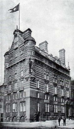 White Star Line Offices, Liverpool, where they read out the names of the dead following the sinking of the Titanic