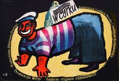 1953 MLODOZENIEC: W cyrku