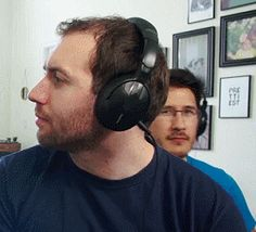 Whisper challenge - Mark dancing in background