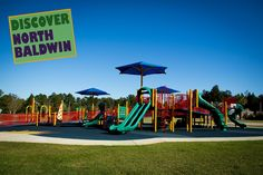 Bay Minette, AL - Built in 2011, the Universal Playground was funded through a grant provided by The Alabama Department of Economic Community Affairs in addition to local matching funds provided by the City of Bay Minette. The park is located at the corner of Bradley Avenue and East 12th Street at the Municipal Pool Complex.