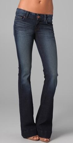 J Brand Lovestory Flare Jeans thestylecure.com