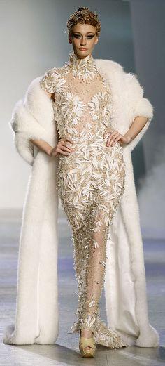 "✪ Zuhair Murad - Couture - ""Winter rhapsody"", F/W 2009-2010  ✪"