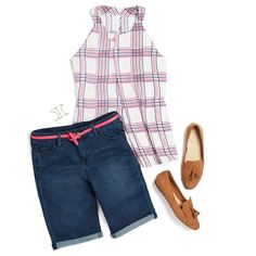 Camille: this would be another good option (Newton halter blouse). A Guide to Preppy Style Stitch Fix Blog, Stitch Fit, Stitch Fix Stylist, Preppy Style, Style Me, Stitch Fix Outfits, Fashion Outfits, Fashion Tips, Women's Fashion