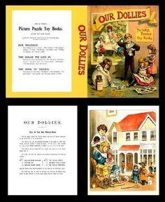 Miniature Printables - Book Pre 1900's. (V)