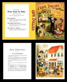 Miniature Printables - Book Pre 1900's.