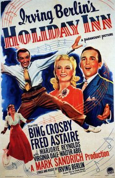 Plot? Who cares? Starring the dream team of Bing Crosby and Fred Astaire and ringing with classic Irving Berlin tunes, the musical resulted in one Oscar (for 'White Christmas'), two films based on songs from the movie (White Christmas and Easter Parade) and a ginormous hotel chain. Irving would be ... proud?
