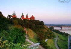 Plock, Poland-- view of the Cathedral. Almost feels like home :).