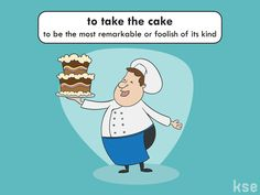 "IDIOM: to take the cake Example: ""Bush was a questionable president, but Trump really takes the cake."" #English #idiom #learnEnglish #inglés"