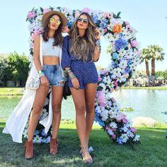 Os melhores looks do festival Coachella - Elisa Bighetti