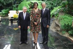 Pin for Later: The Best Photos of the Obama Family's Visit to Cuba At the State Dinner Hosted by Cuban Leader Raul Castro