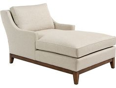 Chaise from Pearson Furniture - Available at http://www.davidwgilbert.com/