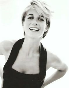 Diana in Black and White :: Diana,Princess Of Wales image by dawngallick - Photobucket