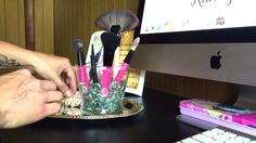 DIY Brush Holder By KConner - YouTube