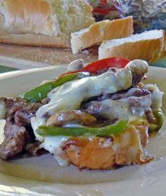 Philly Cheesesteak Casserole http://www.ourlifetastesgood.blogspot.com/2013/11/philly-cheesesteak-casserole.html#more