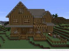 Minecraft mansion house