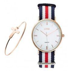 Korting op dit prachtige setje van LOISIR horloges en sieraden! Bekijk snel de website voor meer informatie
