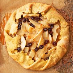 Rustic Pear Tart with Saffron Pastry From Better Homes and Gardens, ideas and improvement projects for your home and garden plus recipes and entertaining ideas.