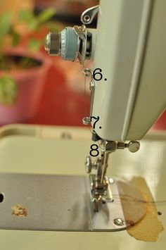 My new sewing machine!    I recently purchased a vintage Brother Charger 031 sewing machine at Good Will for $18. I have been interested i...