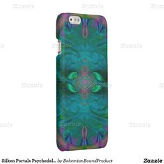 Silken Portals Psychedelic Abstract Glossy iPhone 6 Case