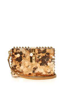 Dolce Box sequinned plexiglass clutch | Dolce & Gabbana | MATCHESFASHION.COM AU