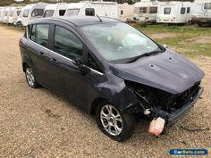 2013 FORD B-MAX ZETEC AUTO AUTOMATIC SILVER SALVAGE DAMAGED REPAIR  #ford #bmaxzetecauto #forsale #unitedkingdom