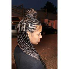 Cornrow braids Cornrows, Box Braids, Dreadlocks, Hair Styles, Beauty, Hair Plait Styles, Box Braid, Hair Makeup, Cornrow