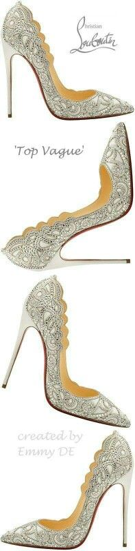 New heels red bottoms christian louboutin shoes spring 2015 ideas Louboutin Wedding, Crazy Shoes, Me Too Shoes, Stilettos, High Heels, Chanel Resort, Zapatos Shoes, California Style, Burberry Handbags