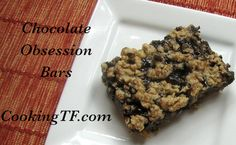 Chocolate Obsession Bars: A Grain-Free, Gluten-Free, Dairy-Free, Rich, Decadent Real Food Dessert