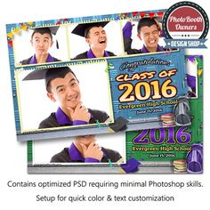 Graduation Time Postcard 1