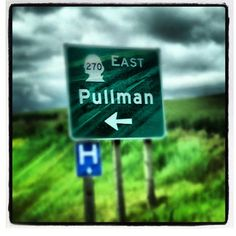 This way to Pullman  Follow us on instagram @WSUAdmissions