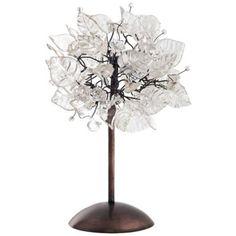 Lush Clear Crystal Table Lamp