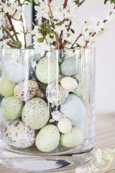 easter decorations - Decorazioni pasquali in stile shabby chic - Pasqua shabby chic