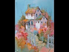 Joyce Hicks Baltimore Watercolor Society Demo Part III - YouTube