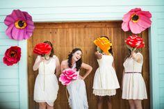 Real Wedding: Colorful Backyard Wedding