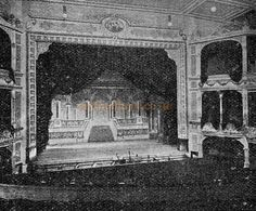 The Auditorium and Stage of the Tivoli Theatre, Birmingham / Later the Hippodrome - From 'The Playgoer' 1901 - Courtesy Iain Wotherspoon.