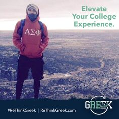 Elevate your college experience. #AvoidAverage