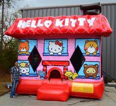 Hello Kitty Bounce House - Affordable Moonwalk Rentals - Covington, Georgia