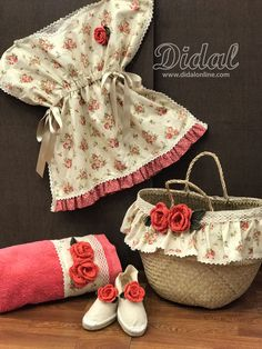 Lace Bag, Summer Handbags, Baby Shoes, Creations, Refashioned Clothes, Kids, Sewing Ideas, Baskets, Kids Fashion
