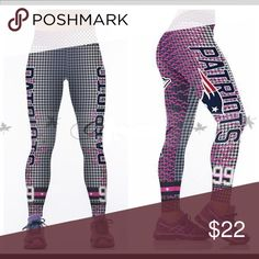 New England Patriots 3D Fitness Gym Leggings Product Feature: Fashion design,100% Brand New, high quality!  Material: 88%Polyester+12%Spandex Style: Sexy, Party, Casual, Fashion, Club Size: One Size Fit Most Waist 68-82 cm Hip 84-100cm Length-90 cm There is 2-3% difference according to manual measurement.  please check the measurement chart carefully before you buy the item.  1 inch = 2.54 cm  Please note that slight color difference should be acceptable due to the light and screen…