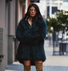 Green Fur, Perth, Fur Coat, Jackets, Instagram, Fashion, Down Jackets, Moda, Fashion Styles