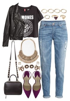 """""""926."""" by adc421 on Polyvore featuring Forever 21, H&M, Paul Andrew and Sandro"""