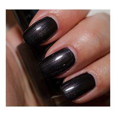 Bobbi Brown Black Pearl Shimmer Nail Lacquer ❤ liked on Polyvore featuring beauty products, nail care, nail polish, nails, makeup, beauty and bobbi brown cosmetics