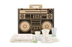 Urban picnic box from Boxsal. Boom boom!
