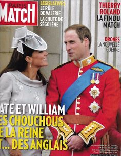 Paris Match French magazine Kate Middleton Prince William Thierry Roland Drones
